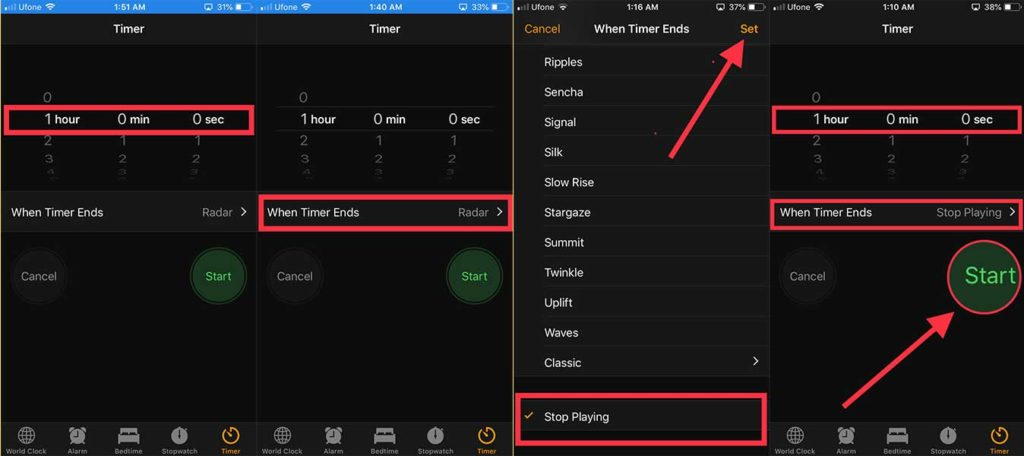 How to Auto-Stop Playing Music and Movies on iPhone while Sleeping