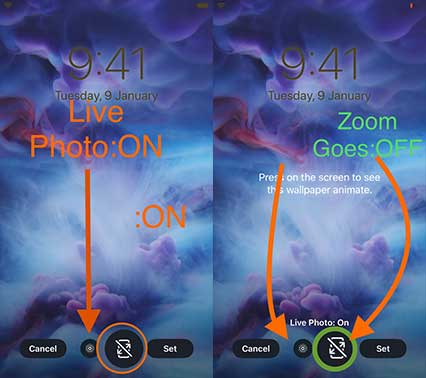 How To Change The Live Lock Screen Wallpaper On Your Iphone